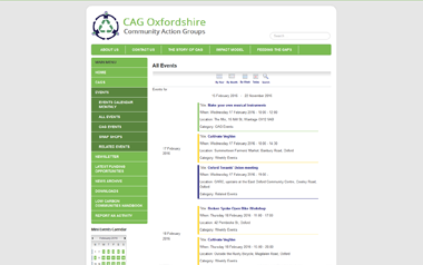 CAG Oxfordshire - Community Action Groups