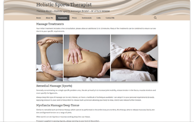 Holistic Sports Therapist - Theresa Rook