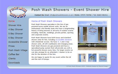 Posh Wash Showers