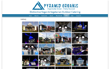 Pyramid Organic - Distinctive Vegan and Vegetarian Outdoor Catering